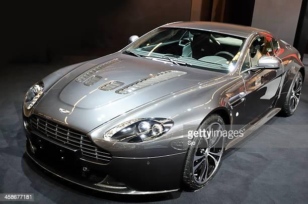 Aston Martin DBS sports car front view