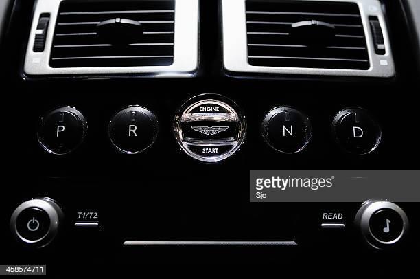 Aston Martin Engine Start