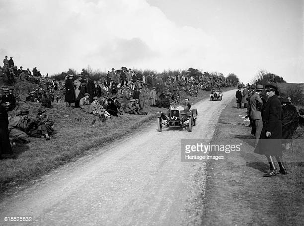 Aston Martin of Bertie KensingtonMoir Essex Motor Club Kop Hillclimb Buckinghamshire 1922 Aston Martin 1496 cc Event Entry No 39 Driver Kensington...