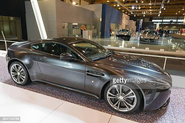 Aston Martin V12 Vantage S sports car