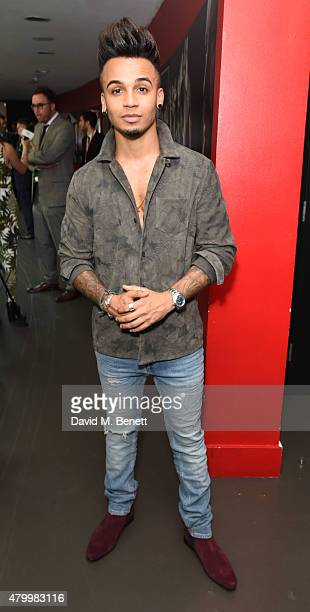 Aston Merrygold attends the Arqiva Commercial Radio Awards at The Roundhouse on July 8 2015 in London England