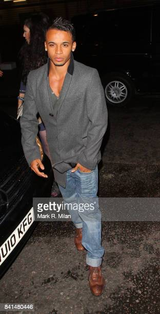Aston Merrygold attends the Midsummer Night's Dream party at The Playboy Club in London