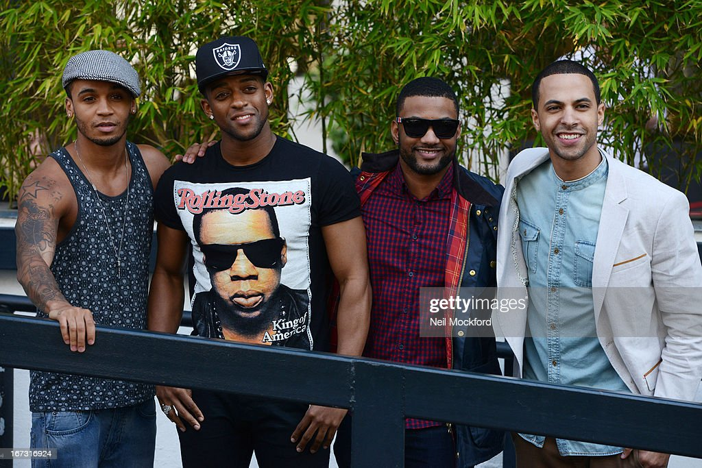<a gi-track='captionPersonalityLinkClicked' href=/galleries/search?phrase=Aston+Merrygold&family=editorial&specificpeople=5739699 ng-click='$event.stopPropagation()'>Aston Merrygold</a>, <a gi-track='captionPersonalityLinkClicked' href=/galleries/search?phrase=Oritse+Williams&family=editorial&specificpeople=5739700 ng-click='$event.stopPropagation()'>Oritse Williams</a>, Jonathan 'JB' Gill and <a gi-track='captionPersonalityLinkClicked' href=/galleries/search?phrase=Marvin+Humes&family=editorial&specificpeople=2887070 ng-click='$event.stopPropagation()'>Marvin Humes</a> pose at the ITV Studios after announcing their split on April 24, 2013 in London, England.
