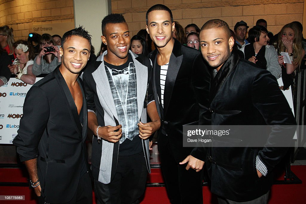 <a gi-track='captionPersonalityLinkClicked' href=/galleries/search?phrase=Aston+Merrygold&family=editorial&specificpeople=5739699 ng-click='$event.stopPropagation()'>Aston Merrygold</a>, <a gi-track='captionPersonalityLinkClicked' href=/galleries/search?phrase=Oritse+Williams&family=editorial&specificpeople=5739700 ng-click='$event.stopPropagation()'>Oritse Williams</a>, <a gi-track='captionPersonalityLinkClicked' href=/galleries/search?phrase=Marvin+Humes&family=editorial&specificpeople=2887070 ng-click='$event.stopPropagation()'>Marvin Humes</a> and Jonathan 'JB' Gill of JLS arrive at the MOBO Awards 2010 held at The Echo Arena on October 20, 2010 in Liverpool, England.