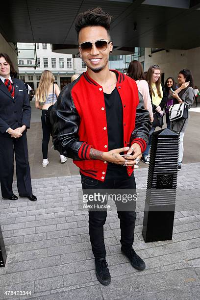 Aston Merrygold seen at the BBC Radio 1 Studios on June 25 2015 in London England Photo by Alex Huckle/GC Images