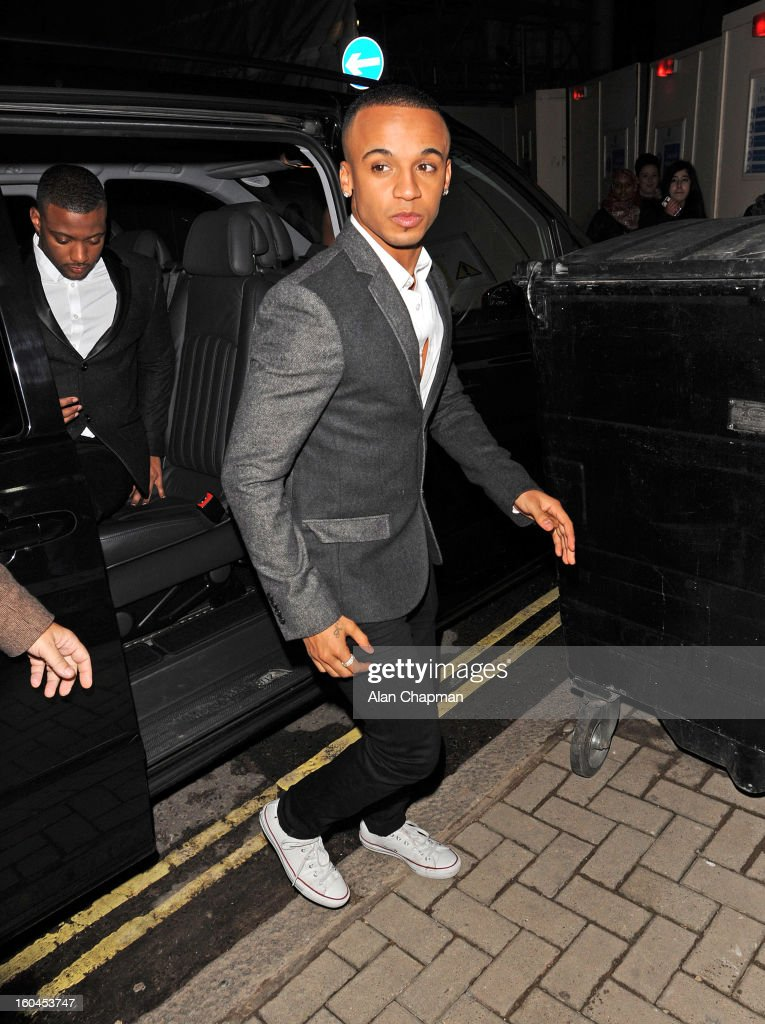 Aston Merrygold sighting on January 31, 2013 in London, England.