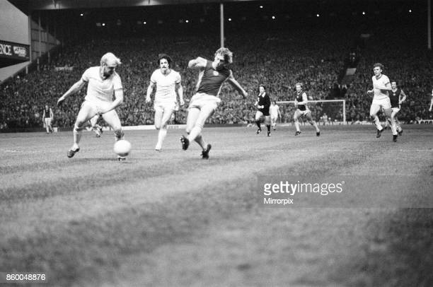Aston Villa 10 Anderlecht European Cup Semifinal 1st leg match at Villa Park Wednesday 7th April 1982