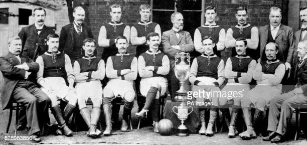 Aston Villa 189697 The Aston Villa team which won the cup and league double in 189697 George Ramsay J Grierson H Spencer J Whitehouse J Margoschis A...
