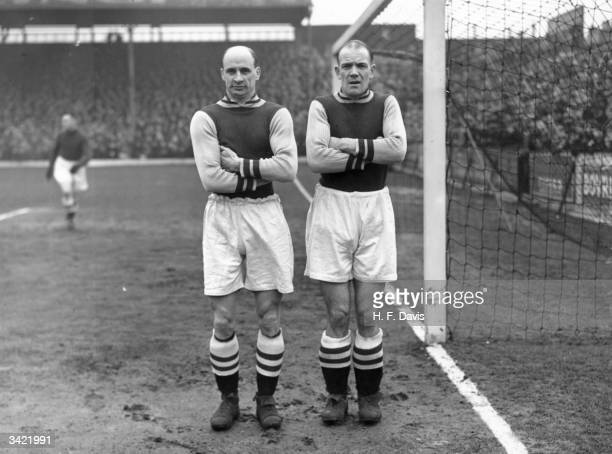 Aston Villa FC football players Callaghan and George Cummings