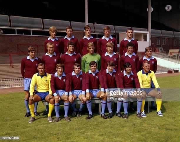 Aston Villa first team squad July 1969 Back row LR Ian Hamilton Barry Hole Fred Turnbull Barry Lynch Keith Bradley Centre LR Lionel Martin Dave...