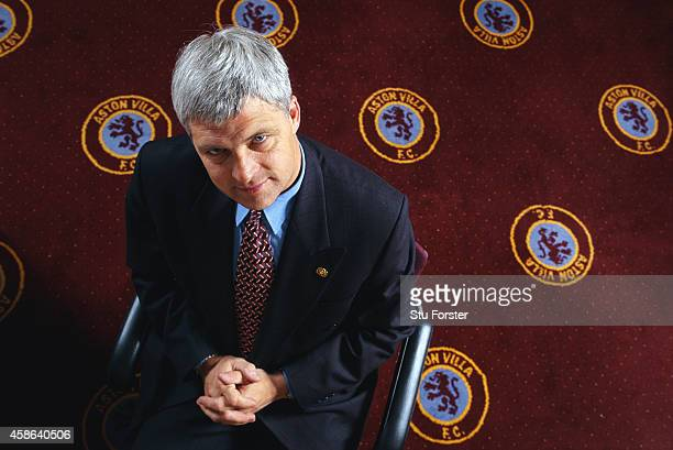 Aston Villa manager Brian Little pictured in his office in 1997 Little played for the club from197080 and then managed them between 1994 and 1998