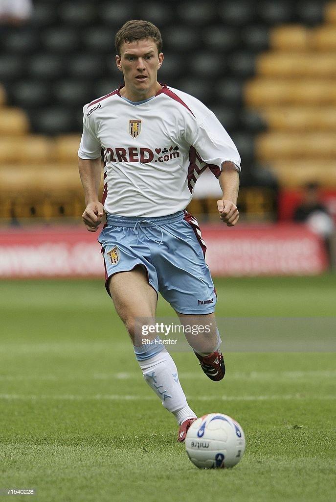 Aston Villa player Craig Gardner makes a run during the Pre-season friendly match between Wolverhampton Wanderers and Aston Villa at Molineux on July 29, 2006 in Wolverhampton, England.