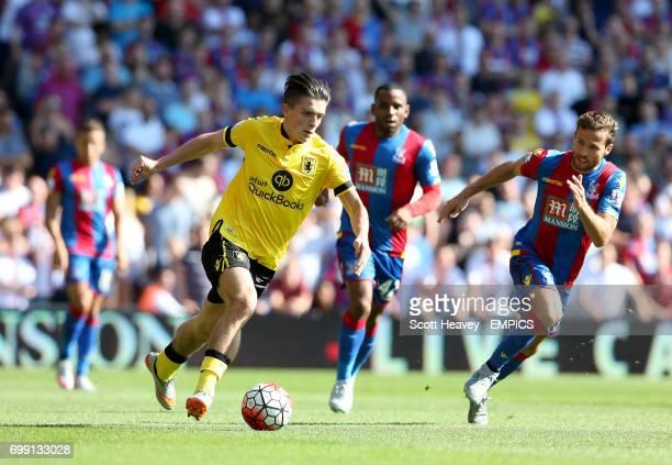 Aston Villa's Jack Grealish in action