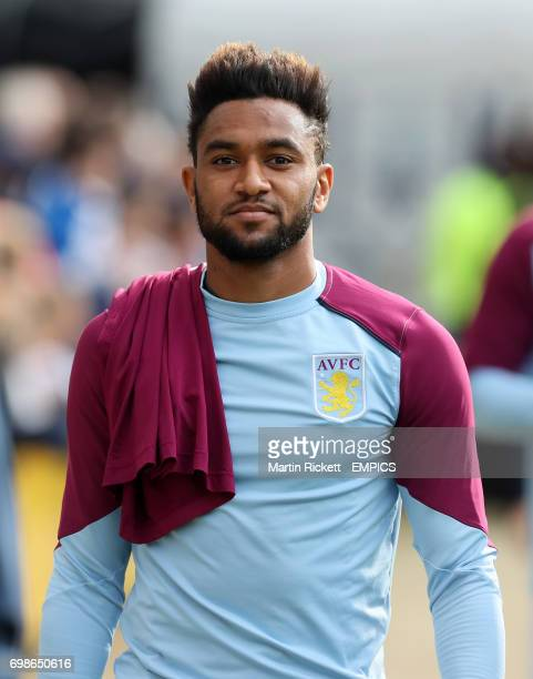 Aston Villa's Jordan Amavi before the game