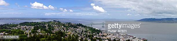 Astoria Oregon Panoramic