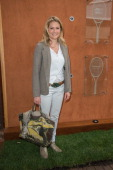 Astrid Bard is sighted at the French Open 2013 at Roland Garros on May 29 2013 in Paris France