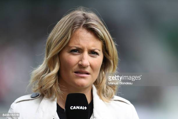 Astrid Bard of Canal during the Top 14 match between Pau and Lyon on September 10 2017 in Pau France