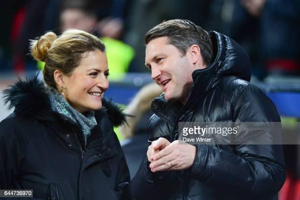Astrid Bard / Olivier LETANG Bayer Leverkusen / Paris Saint Germain 1/8emeFinale Aller Ligue des Champions Photo Dave Winter / Icon Sport