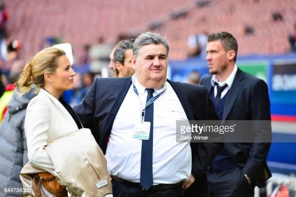 Astrid BARD / Pierre MENES Paris Saint Germain / Chelsea 1/4Finale Aller Champions League Photo Dave Winter / Icon Sport