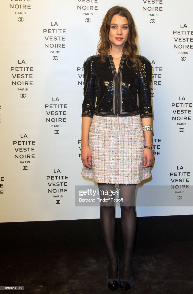 Astrid Berges Frisbey attends 'La Petite Veste Noire' Book Launch Hosted By Karl Lagerfeld & Carine Roitfeld at Grand Palais on November 8, 2012 in Paris, France.