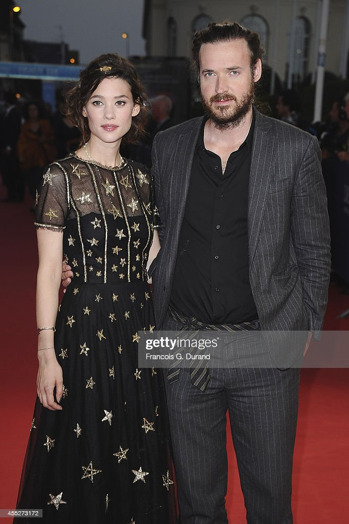 Astrid BergesFrisbey and Mike Cahill attend 'The November man' premiere during the 40th Deauville American Film Festival on September 11 2014 in...