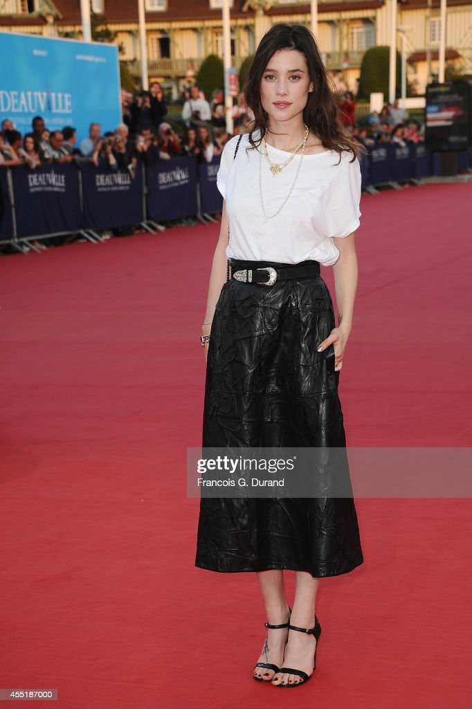 <a gi-track='captionPersonalityLinkClicked' href=/galleries/search?phrase=Astrid+Berges-Frisbey&family=editorial&specificpeople=5582214 ng-click='$event.stopPropagation()'>Astrid Berges-Frisbey</a> arrives at the 'Before I Go To Sleep' premiere during the 40th Deauville American Film Festival on September 10, 2014 in Deauville, France.