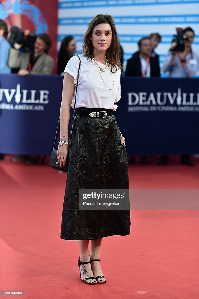 <a gi-track='captionPersonalityLinkClicked' href=/galleries/search?phrase=Astrid+Berges-Frisbey&family=editorial&specificpeople=5582214 ng-click='$event.stopPropagation()'>Astrid Berges-Frisbey</a> attends 'Before I Go To Sleep' Premiere on September 10, 2014 in Deauville, France.