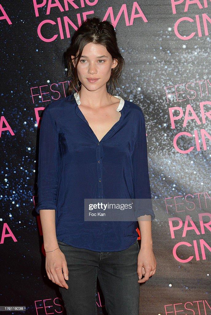 Astrid Berges-Frisbey attends 'La Vie D'Adele' Paris Premiere At MK2 Bibliotheque on July 7, 2013 in Paris, France.