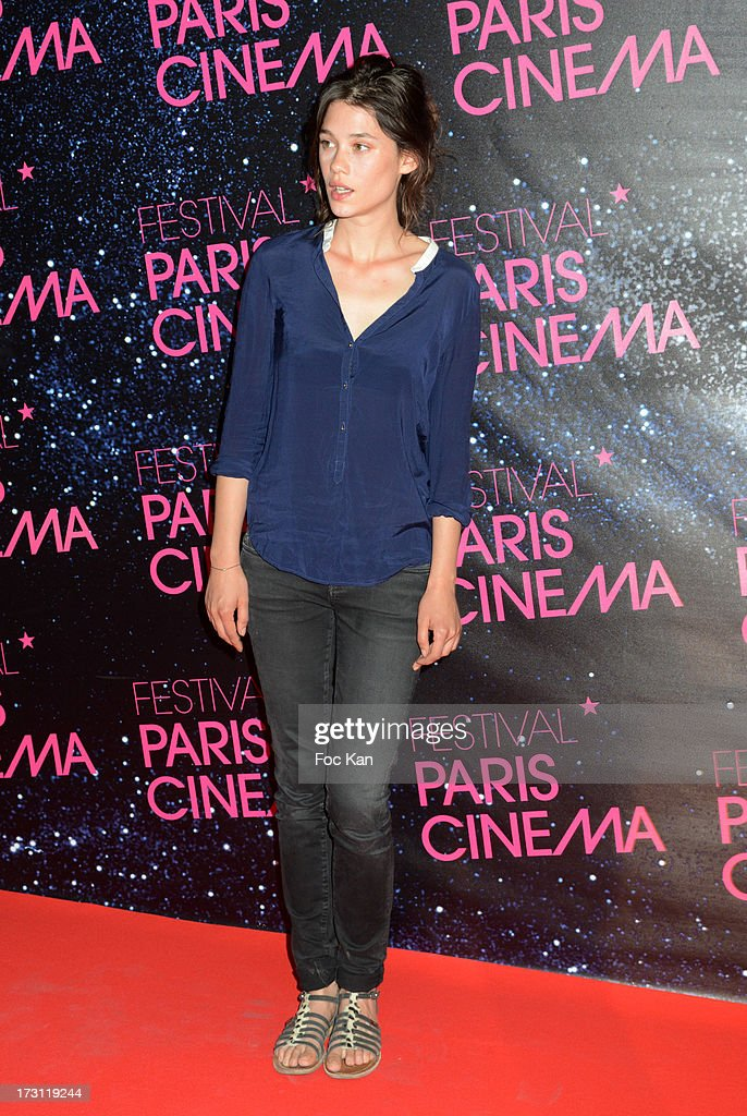 Astrid Berges-Frisbey attends 'La Vie D'Adele' Paris Premiere At MK2 Bibliotheque on July 7, 2013 in Paris, France.