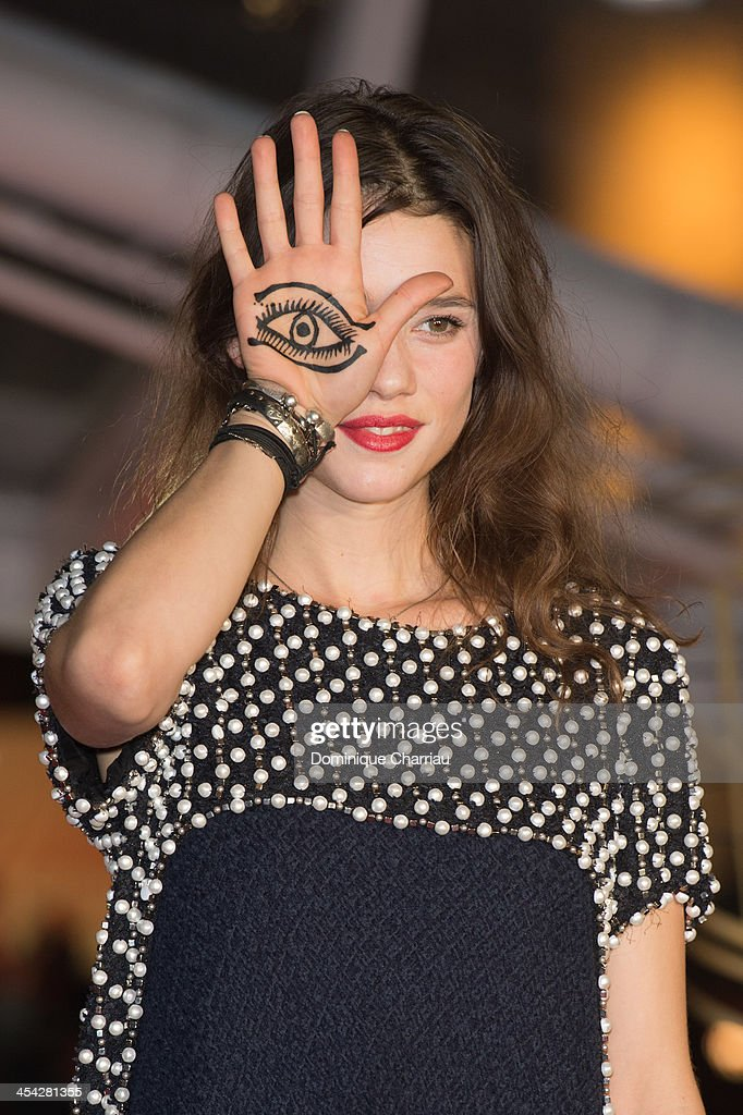 <a gi-track='captionPersonalityLinkClicked' href=/galleries/search?phrase=Astrid+Berges-Frisbey&family=editorial&specificpeople=5582214 ng-click='$event.stopPropagation()'>Astrid Berges-Frisbey</a> attends the award Ceremony 2013' At 13th Marrakech International Film Festival on December 7, 2013 in Marrakech, Morocco.