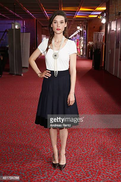 Astrid BergesFrisbey attends the award ceremony of Filmfest Muenchen at Gasteig on July 5 2014 in Munich Germany