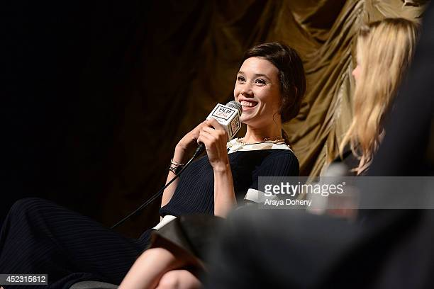 Astrid BergesFrisbey attends the Film Independent at LACMA presents a special screening and QA of 'I Origins' at Bing Theatre At LACMA on July 17...