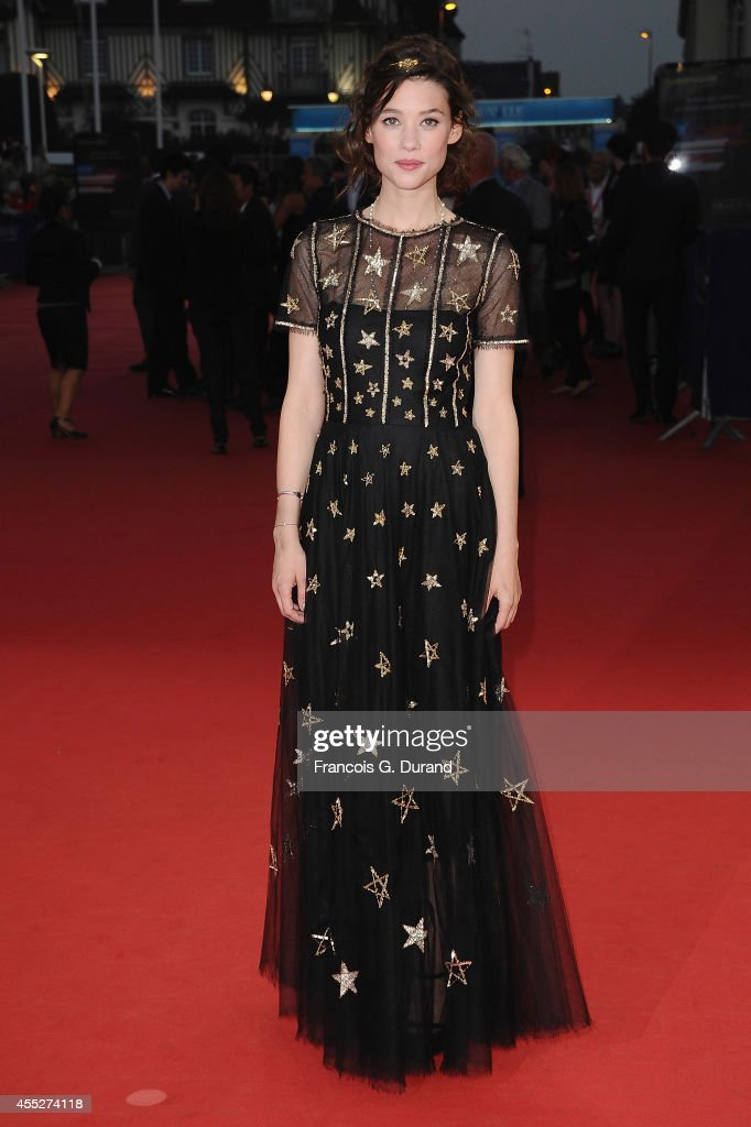 Astrid BergesFrisbey attends 'The November man' premiere during the 40th Deauville American Film Festival on September 11 2014 in Deauville France