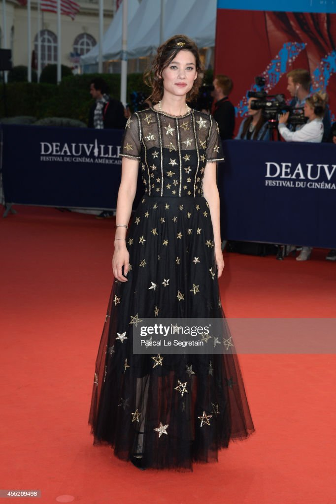<a gi-track='captionPersonalityLinkClicked' href=/galleries/search?phrase=Astrid+Berges-Frisbey&family=editorial&specificpeople=5582214 ng-click='$event.stopPropagation()'>Astrid Berges-Frisbey</a> attends 'The November man' premiere on September 11, 2014 in Deauville, France.