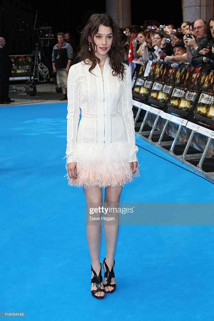 Astrid Berges-Frisbey attends the UK premiere of Pirates Of The Caribbean: On Stranger Tides at the Vue Westfield on May 12, 2011 in London, England.