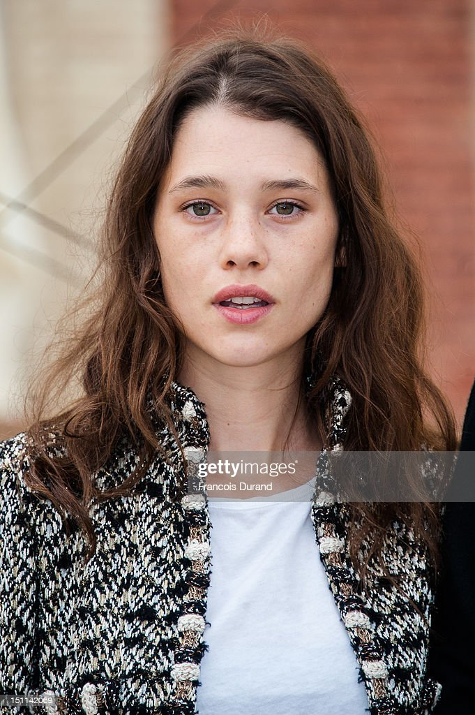Astrid Berges-Frisbey poses at a photocall in 'La Villa Cartier' during the 38th Deauville American Film Festival on September 1, 2012 in Deauville, France.