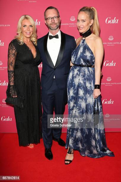 Astrid Bleeker Director Brand Solutions of Gala Marcus Luft and Anne MeyerMinnemann EditorInChief of GALA during the Gala Spa Awards at Brenners...