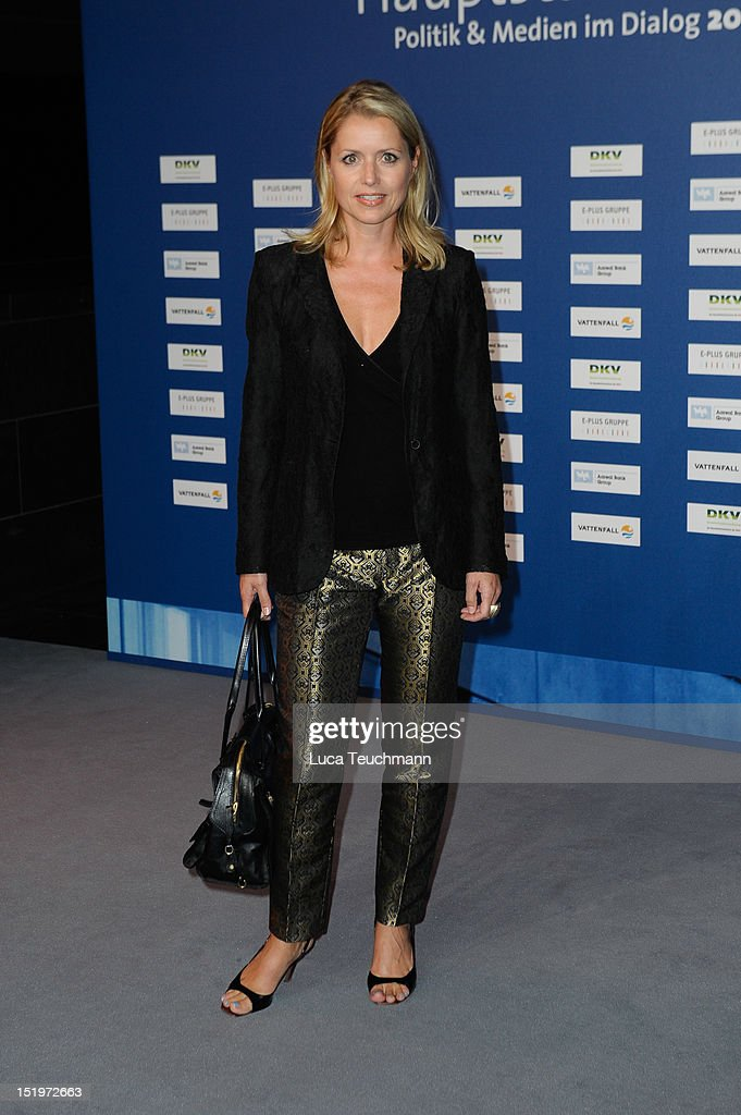 Astrid Frohloff attends the ARD Haupstadttreff reception on on September 13 2012 in Berlin Germany