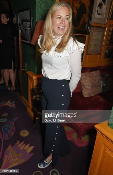 Astrid Harbord attends the Rita Ora dinner and performance at Annabel's on June 27 2017 in London England