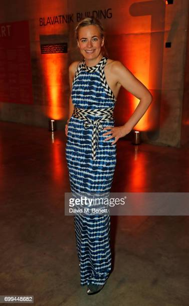 Astrid Harbord attends the Tate's Young Patrons Party at The Tanks at Tate Modern on June 21 2017 in London England