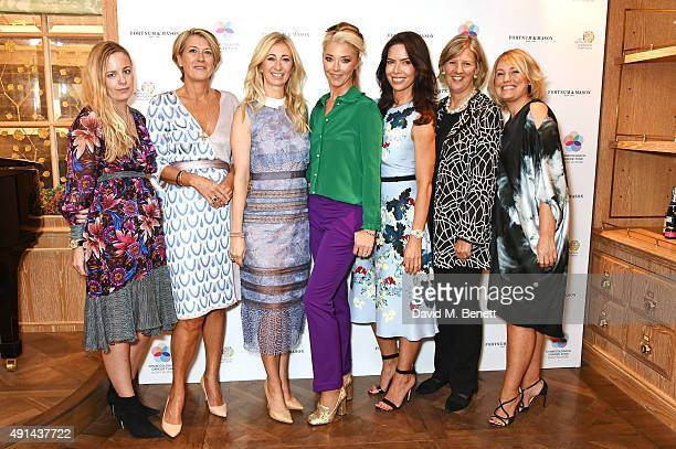 Astrid Harbord Kate Percival Jenny Halpern Prince Tamara Beckwith Josephine Daniel Bridget Barker and Mika Simmons attends the annual ladies' lunch...