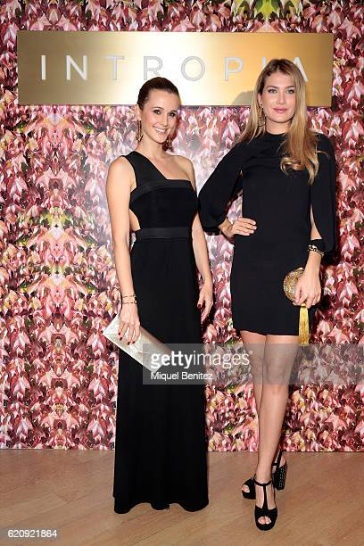 Astrid Klisans and Mireia Lalaguna attend the Intropia Collection presentation on November 3 2016 in Barcelona Spain