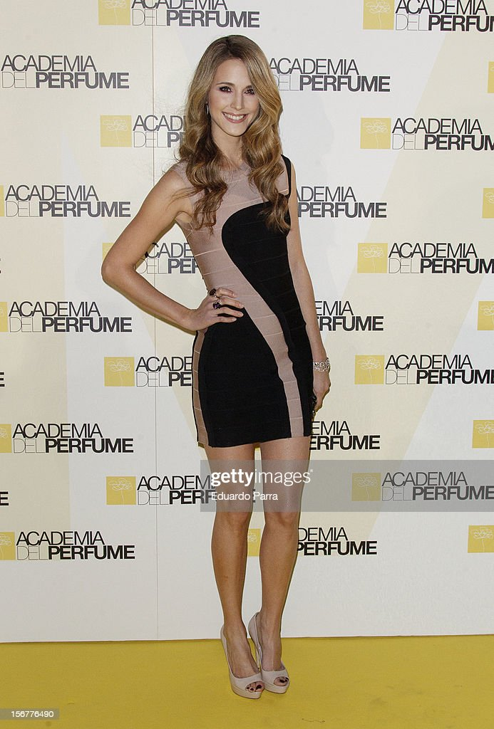 Astrid Klisans attends Academia del perfume awards photocall at Casa de America on November 20, 2012 in Madrid, Spain.
