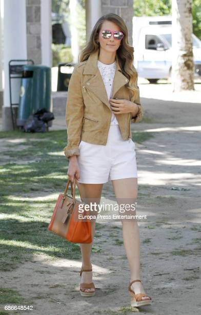 Astrid Klisans attends the Global Champions Tour tournament on May 21 2017 in Madrid Spain