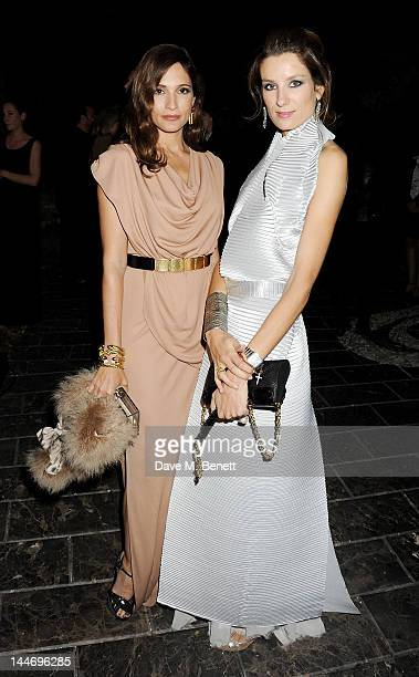 Astrid Munoz and Catalina Swinburne attend as The IFP Calvin Klein Collection euphoria Calvin Klein celebrate Women In Film during the 65th Cannes...