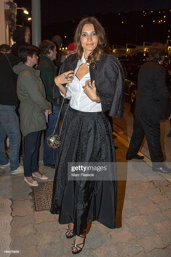 <a gi-track='captionPersonalityLinkClicked' href=/galleries/search?phrase=Astrid+Munoz&family=editorial&specificpeople=613806 ng-click='$event.stopPropagation()'>Astrid Munoz</a> arrives to attend the 'Vanity Fair Chanel' dinner at 'Tetou' restaurant during the 66th Annual Cannes Film Festival on May 19, 2013 in Le Golfe Juan, France.