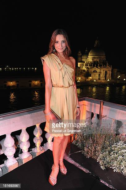 Astrid Munoz attends a gala dinner hosted by JaegerLeCoultre celebrating The RendezVous Collection at Giustinian Palace in Venice during the 69th...