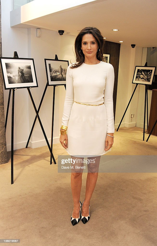 Astrid Munoz attends a private viewing of 'Gaucho', a photographic exhibition by Astrid Munoz, at the Jaeger-LeCoultre Boutique on January 31, 2012 in London, England.