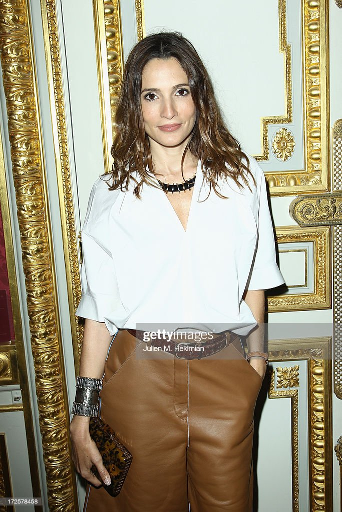 Astrid Muñoz attends the Founder And CEO Alessandro Savelli And Contemporary Style Icon Julia Restoin Roitfeld Launch SAVELLI The World's First Luxury Smart Phone Especially For Women During Haute Couture Week at Musee Jacquemart-Andre on July 3, 2013 in Paris, France.