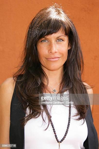 Astrid Veillon at Roland Garros Village
